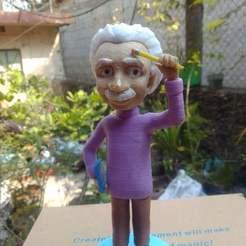 Impresiones 3D Albert Einstein , jozz