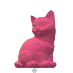 Screenshot_3.png Télécharger fichier STL Cat low poly. • Objet pour impression 3D, luvas