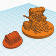 Download free 3D printer designs Treasure Chests 25mm scale miniature Dungeons & Dragons, CaptainRob