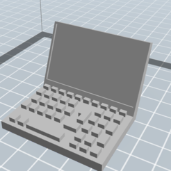 Download free STL files Computer / computer, danbo84