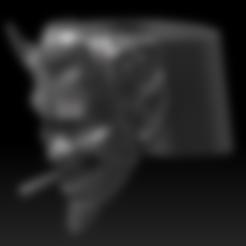 Descargar modelos 3D para imprimir DEVIL WITH CIGAR RING, cinderjanus
