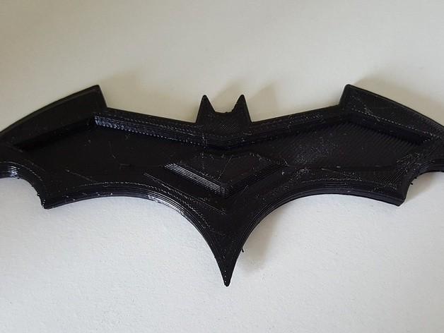 c473439a9f590425da42343aefb565e6_preview_featured.jpg Download free STL file Simple Batarang • 3D print template, Joker