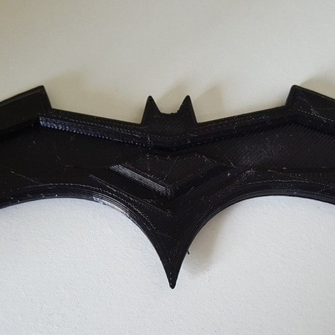 Free 3d printer model Simple Batarang, Joker