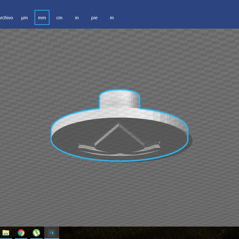 Captura de pantalla (17).png Download free STL file Assassin's Creed Hidden Blade • 3D print template, Joker