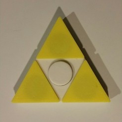 Download free STL file Tri-Force / Zelda Spinner, Joker
