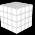 3D printing model 4X4 SCRAMBLED RUBIK'S CUBE, Knight1341