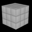 Download STL file 3x3 Rubik's Cube • 3D printing template, Knight1341