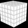 fichier stl 5X5 SCRAMBLED RUBIK'S CUBE, Knight1341