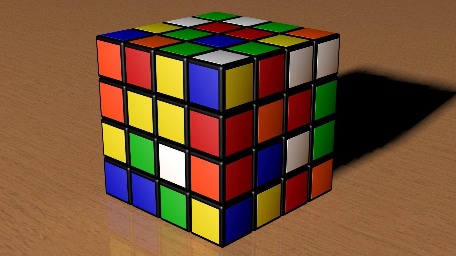 4k.jpg Download STL file 4X4 SCRAMBLED RUBIK'S CUBE • 3D printer template, Knight1341