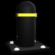 Download free STL file Metal Street Bollard • 3D printable object, Knight1341