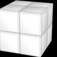 Fichier STL 2x2 Cube de Rubik brouillé, Knight1341