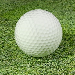 Download STL file Golf Ball, Knight1341