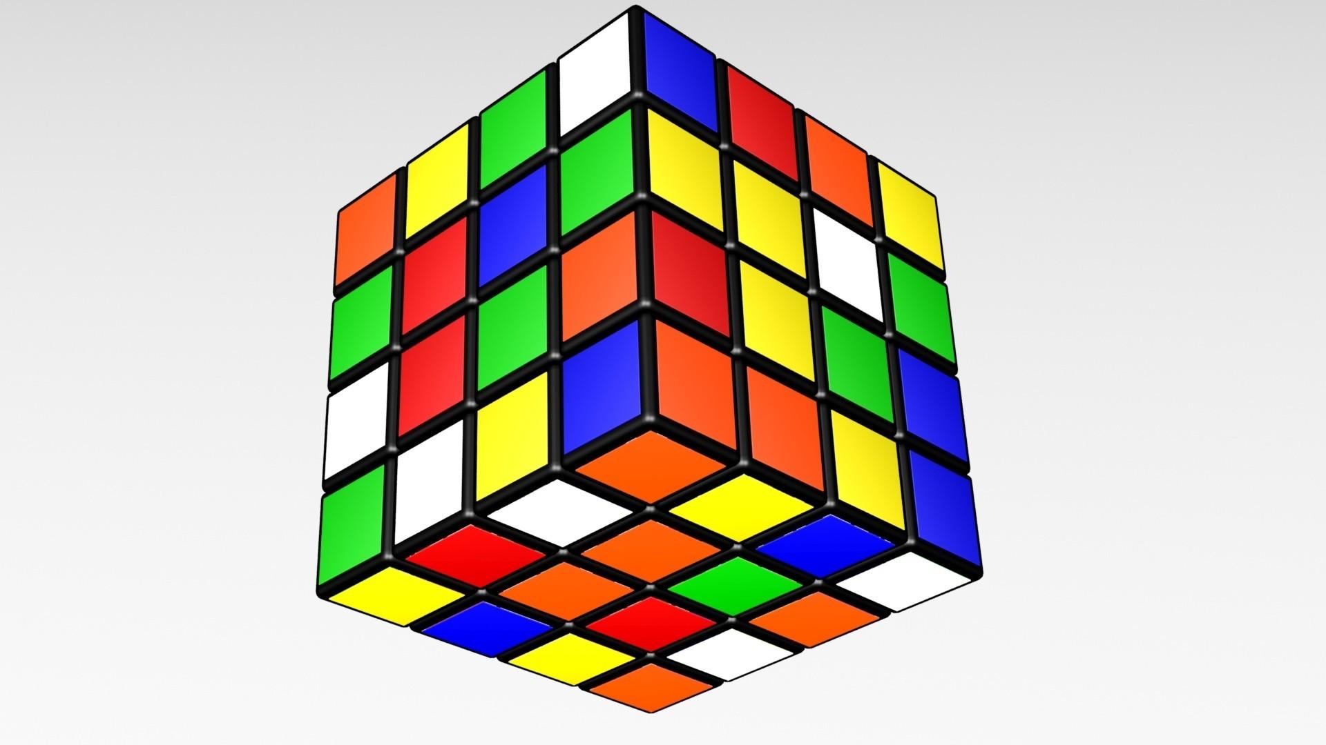 44444k.jpg Download STL file 4X4 SCRAMBLED RUBIK'S CUBE • 3D printer template, Knight1341
