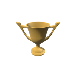 Modelos 3D para imprimir Trophy Cup, 3DBuilder