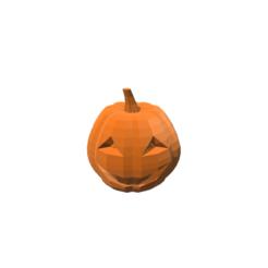 Modèle 3D Citrouille d'Halloween, 3DBuilder
