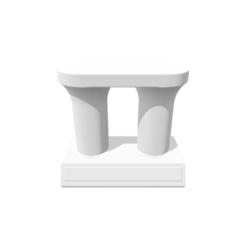 modelos 3d Trophy Double Riser, 3DBuilder
