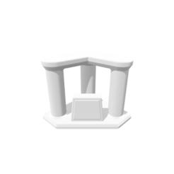 archivos 3d Trophy Triple Riser, 3DBuilder
