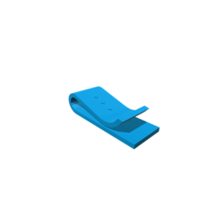 modelo stl Money Clip, 3DBuilder