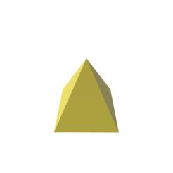 diseños 3d Pyramid Shape, 3DBuilder