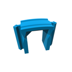 Archivo 3D Train Bridge Arch, 3DBuilder