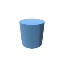 stl Cylinder Shape, 3DBuilder