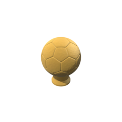 diseños 3d Soccer Trophy, 3DBuilder