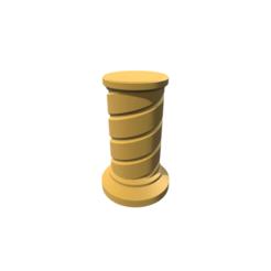stl Trophy Riser 8, 3DBuilder