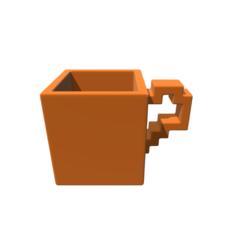 Modelos 3D Cube Mug, 3DBuilder