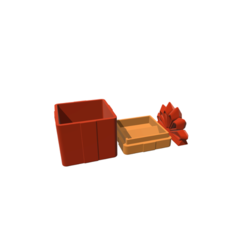 stl files Gift Box, 3DBuilder