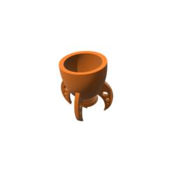 archivos 3d Rocket Mug, 3DBuilder