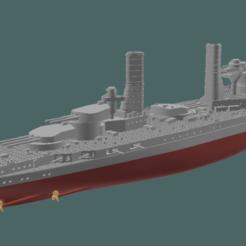 Download STL files Battleship Andrea Doria / Caio Duilio WW1 waterline, soheitb