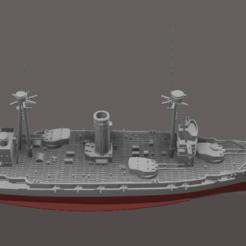 Download 3D printer templates Spain class battleship / waterline, soheitb