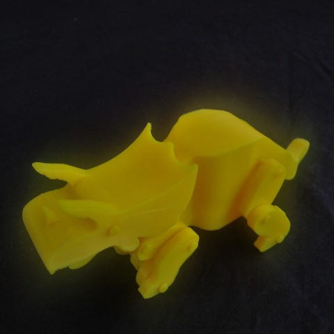 Archivos 3D Animated Triceratops, Manueldo