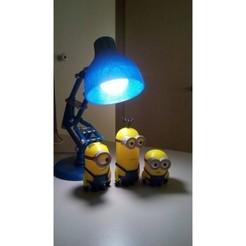 Free STL file Pixar Lamp (Pixar Lamp), Manueldo
