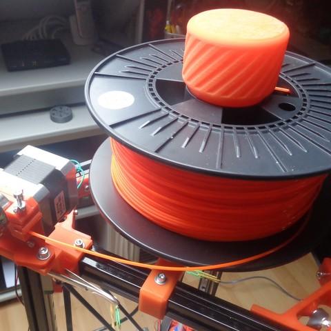 Spoolholder 4.jpg Download free STL file Mini Kossel Delta 3D Printer Spoolholder • Template to 3D print, Bishop