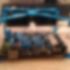 Download free STL Fan Mount for MKS BASE V1 3d printer board, BAYA