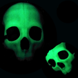 Download free 3DS file Mask Skull • 3D printer template, marcos27