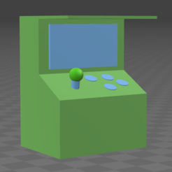Download free 3D printer model Arcade, Walien_
