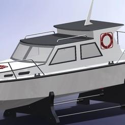 Impresiones 3D barco, JoseNeto
