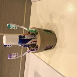 IMG_0351.jpg Télécharger fichier GCODE gratuit pot pour brosse a dent et dentifrice • Plan pour imprimante 3D, quentinsant