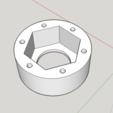 Modelos 3D gratis ANILLO DE TUERCA M33 PARA TORNO DE MADERA, LTDO