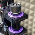 Download free 3D printing files OpenBuilds 71mm to 52mm Spindle Mount Adapter with Cooling Airway, BruceBuildFun