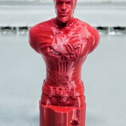 Download free 3D printer files Punisher Bust, SADDEXdesign