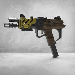 Descargar modelos 3D para imprimir Call of Duty Black Ops IV Saug 9mm, SADDEXdesign