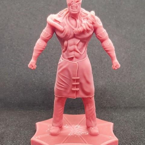 Télécharger objet 3D Nemesis Resident Evil *Updated*, SADDEXdesign