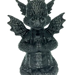 Download free 3D printer designs Baby Dragon, SADDEXdesign
