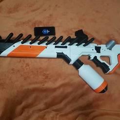 diseños 3d gratis Rifle de asalto alienígena del Distrito 9, SADDEXdesign