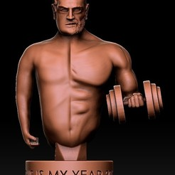 Download free STL file Quick Cults Contest Sculpt New Years Resolution, SADDEXdesign
