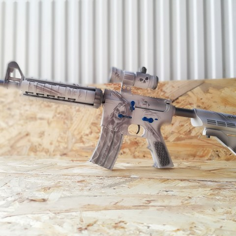 Free 3D printer files M4A4 Rifle CSGO , SADDEXdesign