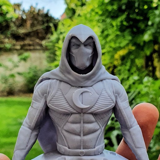 Download 3D printer files Moon Knight, SADDEXdesign